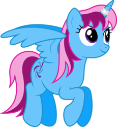 Size: 6400x6964 | Tagged: safe, artist:parclytaxel, oc, oc only, oc:parcly taxel, alicorn, pony, .svg available, absurd resolution, alicorn oc, cutie mark, flying, horn ring, simple background, smiling, solo, transparent background, vector