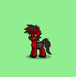 Size: 352x356 | Tagged: safe, screencap, oc, oc only, oc:twinny, pony, pony town, backpack, male, original character do not steal, ponysona, solo, stallion