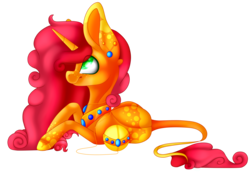 Size: 2900x2009 | Tagged: safe, artist:immagoddampony, oc, oc only, orbite, pony, colored pupils, female, high res, mare, prone, simple background, solo, transparent background