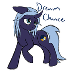 Size: 3260x3285 | Tagged: safe, artist:glacierfrostclaw, oc, oc only, oc:dream chance, changeling, pony, unicorn, simple background, solo, white background