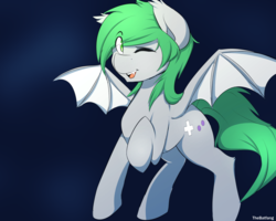 Size: 2000x1600 | Tagged: artist:thebatfang, bat pony, flying, male, night, oc, oc only, pony, safe, simple background, solo, stallion, wings