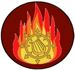 Size: 1910x1775 | Tagged: chaos, fire, logo, lyra heartstrings, no pony, safe, simple background, symbol, transparent background, warhammer 40k, word bearers
