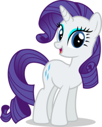 Size: 7000x8695 | Tagged: safe, artist:luckreza8, rarity, pony, unicorn, .svg available, absurd resolution, female, full body, looking at you, mare, simple background, smiling, solo, transparent background, vector