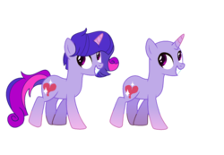 Size: 1024x707 | Tagged: safe, artist:shiba-dopts, oc, oc only, pony, unicorn, adoptable, colored hooves, colored horn, gradient hooves, gradient horn, male, offspring, parent:princess cadance, parent:twilight sparkle, parents:twidance, simple background, solo, stallion, transparent background