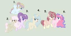 Size: 1280x662 | Tagged: safe, artist:rose-moonlightowo, oc, oc only, earth pony, pegasus, pony, unicorn, adoptable, female, magical lesbian spawn, mare, oc six, offspring, parent:applejack, parent:double diamond, parent:fluttershy, parent:party favor, parent:pinkie pie, parent:princess luna, parent:rainbow dash, parent:rarity, parent:starlight glimmer, parent:sunburst, parent:thunderlane, parent:twilight sparkle, parents:applefavor, parents:doubledash, parents:lunapie, parents:partyjack, parents:starity, parents:thundershy, parents:twiburst