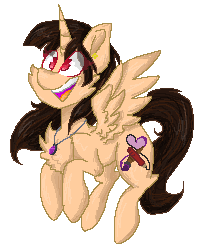 Size: 200x250 | Tagged: alicorn, alicorn oc, artist:fluttercrafts, oc, oc only, oc:spring beauty, pixel art, safe, simple background, transparent background