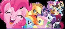 Size: 1112x510   Tagged: safe, applejack, capper dapperpaws, captain celaeno, fizzlepop berrytwist, fluttershy, grubber, pinkie pie, princess skystar, queen novo, rainbow dash, rarity, songbird serenade, spike, storm king, tempest shadow, twilight sparkle, abyssinian, alicorn, dragon, earth pony, pegasus, pony, seapony (g4), unicorn, anthro, my little pony: the movie, anthro with ponies, headworn microphone, mane seven, mane six, simple background, transparent background, twilight sparkle (alicorn)
