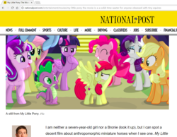 Size: 1322x1025 | Tagged: alicorn, alicornified, apple bloom, applejack, article, artist:shutterflyeqd, bloomicorn, cowboy bebop at his computer, dragon, error, fanart, fluttershy, mistake, news, pinkie pie, race swap, rainbow dash, rarity, safe, spike, starlight glimmer, text, twilight sparkle, twilight sparkle (alicorn), you had one job