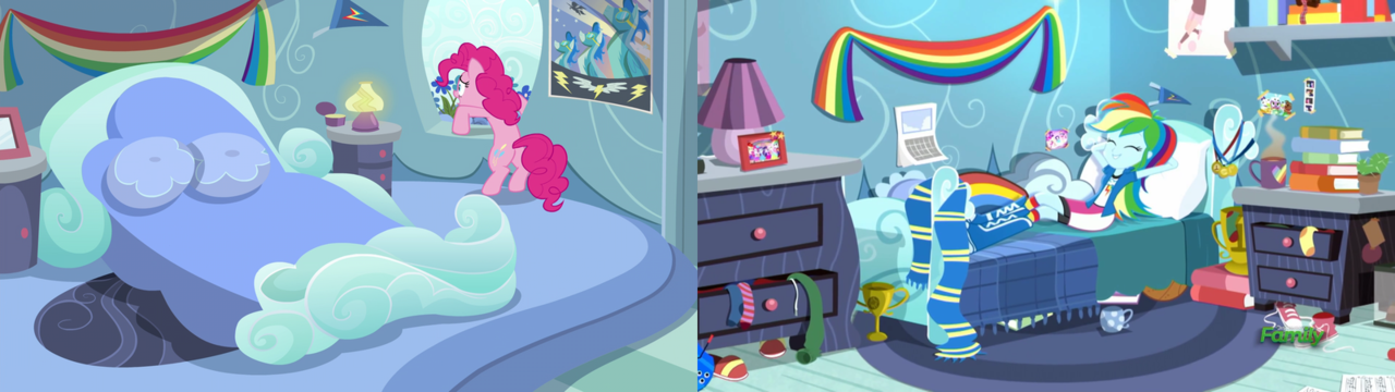 1561207 Bed Bedroom Comparison Converse Equestria Girls Lamp