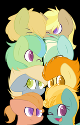 Size: 1024x1611 | Tagged: artist:mlp-zap-apple, base used, magical gay spawn, oc, oc only, offspring, parent:lightning dust, parent:limestone pie, parents:trenderbreeze, parents:zephyrhugger, parents:zephyrstone, parent:tree hugger, parent:trenderhoof, parent:zephyr breeze, safe