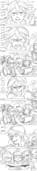 Size: 800x3689 | Tagged: safe, artist:ponyprincessgirl100, indigo zap, lemon zest, sci-twi, sour sweet, sugarcoat, sunny flare, sunset shimmer, twilight sparkle, comic:misunderstanding, equestria girls, angry, comic, computer, female, laptop computer, lesbian, misunderstanding, overprotective, play button, revenge, scared, scitwishimmer, shadow five, shipping, sketch, sunsetsparkle, terrified