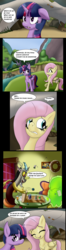 Size: 2328x8874 | Tagged: alicorn, artist:thebadgrinch, aside glance, bill cipher, captain wuzz, comic, d20, discord, dungeons and dragons, fluttershy, ginseng teabags, high res, looking at you, my little pony: the movie, ogres and oubliettes, pony, safe, sideways glance, smooze, squizard, twilight sparkle, twilight sparkle (alicorn)