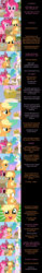 Size: 2000x12926 | Tagged: absurd res, alicorn, apple, apple bloom, apple family, applejack, applejack appreciation day, artist:mlp-silver-quill, big macintosh, bon bon, caramel, cheerilee, clothes, cloudchaser, comic, cowboy hat, cutie mark crusaders, double diamond, earth pony, eating, equal four, equestria daily, female, filly, flitter, fluttershy, food, golden apple, granny smith, hat, limestone pie, looking at you, lyra heartstrings, male, mane six, marble pie, mare, maud pie, mayor mare, night glider, oc, oc:clutterstep, party favor, pegasus, pie sisters, pinkie pie, pinkie pie says goodnight, pony, princess celestia, rainbow dash, rarity, safe, scootaloo, siblings, sisters, stallion, starlight glimmer, stetson, sugar belle, surprised, sweet apple acres, sweet apple acres barn, sweetie belle, sweetie drops, trixie, twilight sparkle, twilight sparkle (alicorn), unicorn, wingding eyes