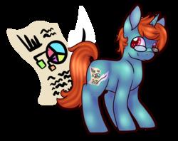Size: 2502x1980 | Tagged: safe, artist:cloureed, oc, oc only, unicorn, male, solo, stallion