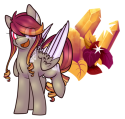 Size: 2117x2013 | Tagged: safe, artist:cloureed, oc, oc only, oc:autumn shimmer, simple background, solo