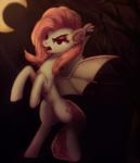 Size: 1024x1195 | Tagged: safe, artist:penny-wren, fluttershy, bat pony, flutterbat, race swap