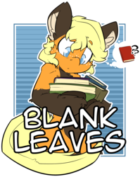 Size: 1764x2216 | Tagged: safe, artist:bbsartboutique, oc, oc only, oc:blank leaves, earth pony, pony, badge, book, con badge, simple background, transparent background