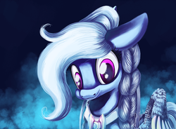 Size: 1024x754 | Tagged: artist:shivannie, female, mare, oc, oc only, pegasus, pony, safe, smiling, solo