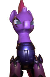 Size: 1201x1840 | Tagged: safe, derpibooru exclusive, tempest shadow, my little pony: the movie, bad lighting, guardians of harmony, irl, photo, simple background, toy, transparent background