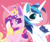Size: 1000x849 | Tagged: safe, artist:snow angel, princess cadance, shining armor, alicorn, pony, unicorn, :p, blush sticker, blushing, chest fluff, colored pupils, cute, cutedance, ear fluff, featured image, female, heart, heart background, heart eyes, husband and wife, jewelry, lidded eyes, looking at you, male, mare, pink background, raised hoof, regalia, shining adorable, shiningcadance, shipping, signature, silly, simple background, smiling, sparkles, stallion, starry eyes, straight, sweet dreams fuel, tongue out, wing fluff, wingding eyes