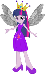Size: 379x615 | Tagged: safe, artist:selenaede, artist:user15432, twilight sparkle, fairy, human, equestria girls, base used, clothes, costume, crown, fairy princess, fairy princess outfit, fairy wings, halloween, halloween costume, holiday, humanized, jewelry, princess costume, princess crown, regalia, shoes, twilight sparkle (alicorn), winged humanization, wings