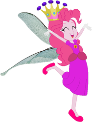 Size: 437x582 | Tagged: safe, artist:selenaede, artist:user15432, pinkie pie, dragonfly, fairy, human, equestria girls, base used, clothes, costume, crown, dragonfly wings, fairy princess, fairy princess outfit, fairy wings, gloves, halloween, halloween costume, holiday, humanized, jewelry, princess, princess costume, princess pinkie pie, regalia, shoes, winged humanization, wings