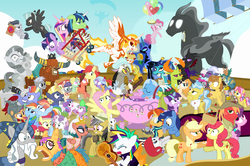 Size: 1500x996 | Tagged: adagio dazzle, a flurry of emotions, a health of information, airsick armor, alicorn, all bottled up, alternate hairstyle, angel bunny, anger magic, applejack, applejack's parents, aria blaze, a royal problem, artist:dm29, backwards cutie mark, ballerina, basket, bee sentry, big macintosh, bimbettes, bottled rage, bow hothoof, brightbutter, bright mac, camera, campfire tales, celestial advice, changedling, changeling, chipcutter, cinnamon nuts, clothes, colt, crossing the memes, cup, daring do, daring done?, daybreaker, dear darling, discord, discordant harmony, doctor fauna, dragon, dragon lord ember, earth pony, equestrian pink heart of courage, fame and misfortune, feather bangs, female, filly, final form, flash bee, flash magnus, flash sentry, flash sentry bee, fluttershy, fluttershy leans in, fond feather, food, forever filly, friendship journal, ginseng teabags, glowpaz, guitar, guitarity, hard to say anything, heart, heart eyes, helmet, hoity toity, honest apple, hug, iron will, it isn't the mane thing about you, jalapeno red velvet omelette cupcakes, kettle corn, king thorax, kite, magic, male, mare, marks and recreation, maud pie, meme, micro, mining helmet, mini twilight, mistmane, muffin, night light, nightmare moon, not asking for trouble, not enough tags, once upon a zeppelin, pancakes, parental glideance, pear butter, pegasus, pharynx, photo finish, pie, piñata, pineapple, pinkie pie, pizza costume, pizza head, pony, pony of shadows, prince rutherford, princess cadance, princess ember, princess flurry heart, punk, rainbow dash, rainbow dash's parents, raripunk, rarity, reformed four, rockhoof, rock solid friendship, rumble, safe, scootaloo, season 7, season 7 in a nutshell, secrets and pies, shadow play, shining armor, shipping, shopping cart, simple background, somnambula, sonata dusk, sphinx, sphinx (character), spike, spoiler:s07e13, spoiler:s07e14, spoiler:s07e18, spoiler:s07e19, stallion, starlight glimmer, star swirl the bearded, star tracker, statue, stingbush seed pods, straight, strawberry, strawberry sunrise, sugar belle, sugarmac, sweetie belle, swoon song, teacup, that pony sure does love kites, that pony sure does love teacups, the meme continues, the perfect pear, the story so far of season 7, this is my final form, thorax, thunderlane, to change a changeling, too many tags, triple threat, trixie, tutu, twilarina, twilight sparkle, twilight sparkle (alicorn), twilight velvet, uncommon bond, unicorn, uniform, wall of tags, whammy, why i'm creating a gown darling, wild fire, windyhoof, windy whistles, wingding eyes, winged teapot, wonderbolts uniform, yak, zebra, zecora