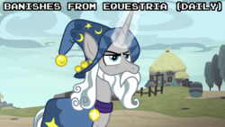 Size: 1920x1080 | Tagged: banned from equestria daily, magic, safe, screencap, shadow play, spoiler, star swirl the bearded, text
