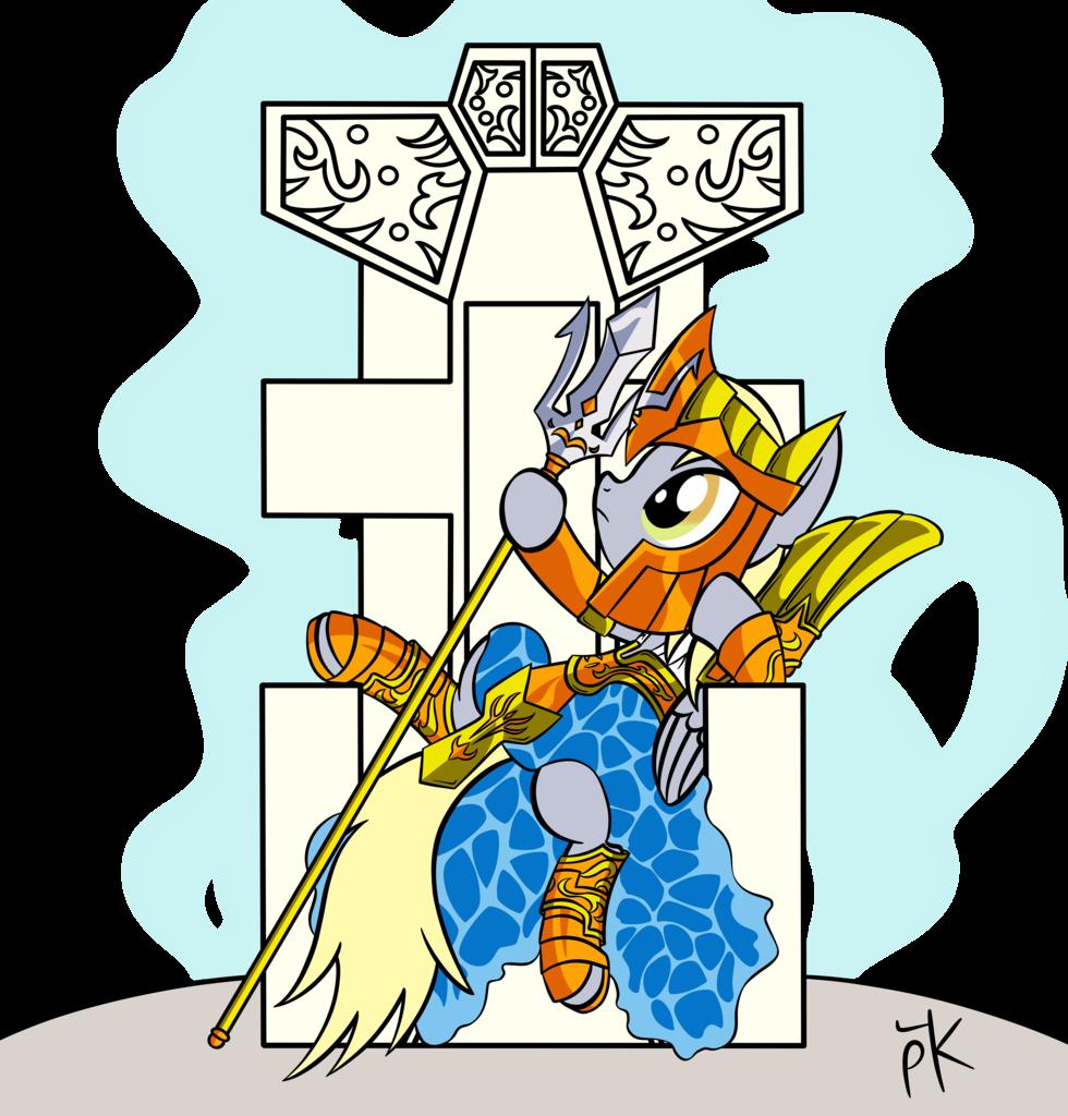 1572880 - absurd res, artist:pony4koma, crossover, derpy