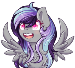 Size: 1253x1137 | Tagged: safe, artist:sketchyhowl, oc, oc only, oc:sketchy howl, pegasus, pony, female, mare, simple background, solo, transparent background