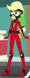 Size: 320x815 | Tagged: safe, screencap, applejack, mistress marevelous, equestria girls, movie magic, spoiler:eqg specials, clothes, costume, cropped, female, lasso, power ponies, rope, superhero