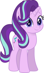 Size: 1210x2018 | Tagged: artist:peahead, cute, female, glimmerbetes, looking at you, mare, movie accurate, my little pony: the movie, pony, safe, simple background, smiling, solo, starlight glimmer, transparent background, unicorn, vector