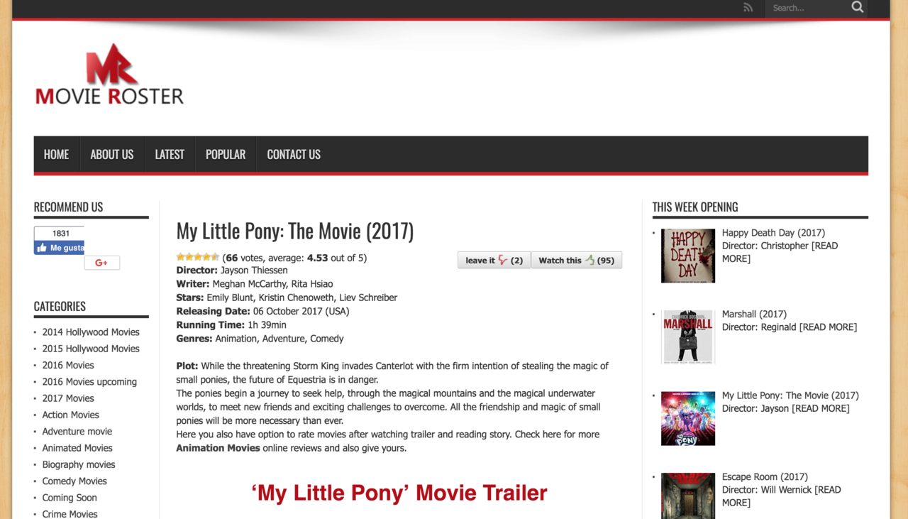 1552092 - link in description, my little pony: the movie, no pony