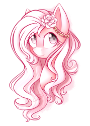 Size: 1024x1433 | Tagged: safe, artist:snowbunny0820, oc, oc only, oc:jasmine, earth pony, pony, bust, eye clipping through hair, female, mare, portrait, simple background, solo, transparent background