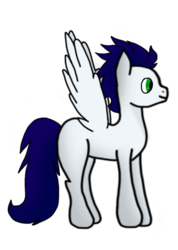 Size: 3871x5428 | Tagged: artist:delphina34, missing cutie mark, pony, safe, simple background, soarin', solo, transparent background
