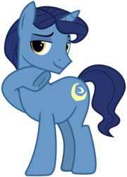 Size: 2300x3200 | Tagged: safe, artist:cheezedoodle96, night light, pony, unicorn, once upon a zeppelin, .svg available, dilf, frog (hoof), lidded eyes, looking at you, male, simple background, solo, stallion, svg, transparent background, underhoof, vector