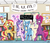 Size: 4200x3600 | Tagged: safe, artist:docwario, big macintosh, fizzlepop berrytwist, moondancer, princess cadance, princess celestia, princess luna, scootaloo, starlight glimmer, sunset shimmer, tempest shadow, trixie, twilight sparkle, alicorn, pony, unicorn, my little pony: the movie, anatomically incorrect, broken horn, chair, counterparts, cute, female, filly, fun with acronyms, get, hang in there, hanging, humiliation, implied flurry heart, inconvenient trixie, incorrect leg anatomy, mare, pin the tail on the pony, princess big mac, reformed villain, rocking chair, scootaloo can't fly, shaming, shimmerbetes, subtle as a train wreck, this will end in pain, twilight sparkle (alicorn), twilight's counterparts