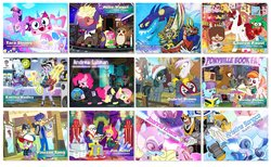 Size: 1600x987 | Tagged: safe, artist:pixelkitties, ahuizotl, aunt holiday, auntie lofty, bon bon, coco pommel, daring do, derpy hooves, flash sentry, fluttershy, gilda, mare do well, maud pie, normal norman, pinkie pie, rarity, scootaloo, spike, sweetie drops, trixie, twilight sparkle, twist, oc, oc:blackgryph0n, oc:fausticorn, alien, earth pony, griffon, pegasus, pony, porg, equestria girls, spoiler:star wars, album cover, alicorn oc, andrea libman, artist interpretation, aunt and niece, autograph, blackgryph0n, book, cartoon network, chiara zanni, cigarette smoking man, coco (disney movie), comic book, crossover, daft punk, dana scully, demogorgon, dia de los muertos, electric guitar, equestria girls-ified, female, fish bowl, flutterspy, for dummies, foster's home for imaginary friends, fox mulder, griffon oc, griffonstone, guitar, hula dance, instruction manual, jim miller, joanna lewis, katrina hadley, kristine songco, lauren faust, lego, lego building instructions, loki, mac (foster's), male, mare, marvel, marvel cinematic universe, mike vogel, millennium falcon, missing poster, musical instrument, nicole dubuc, official content, okie doki loki, parody, pixelkitties' brilliant autograph media artwork, ponified, ponysona, ready to die, s.m.i.l.e., secret agent sweetie drops, singing, spoilers for another series, stallion, star wars, star wars: the last jedi, steve harrington, stranger things, tara strong, the legend of zelda, the legend of zelda: the wind waker, the lego movie, the notorious big, thor, thor: ragnarok, twilight sparkle (alicorn), unikitty, unikitty! (tv series), vincent tong, voice actor joke, voltron, wall of tags, we couldn't fit it all in, x-files