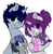 Size: 3792x3877 | Tagged: artist:wickedsilly, baby, baby pony, blushing, blush sticker, choker, colt, cute, daaaaaaaaaaaw, ear fluff, ear piercing, eyes closed, family, family photo, female, foal, hoof hold, lidded eyes, looking at you, male, mare, no catchlights, oc, oc:daydream, oc:lullaby, oc only, oc:sleepy head, oc:wicked silly, oc x oc, offspring, :p, parent:oc:sleepy head, parent:oc:wicked silly, parents:wickedsleepy, piercing, pony, safe, shipping, simple background, sitting, smiling, stallion, straight, :t, tongue out, unicorn, white background, wickedsleepy
