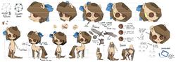Size: 4752x1683   Tagged: safe, artist:artguydis, oc, oc only, oc:raggie, hagwarders, original species, reference sheet