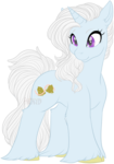 Size: 596x850 | Tagged: artist:pancaked, artist:sequin, bells, blue body, female, oc, oc only, oc:wedding bells, patreon:syruped, purple eyes, safe, side view, simple background, solo, transparent background, unicorn, unshorn fetlocks, wedding bells, white mane
