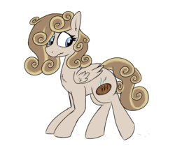 Size: 1501x1372 | Tagged: artist:liserancascade, oc, oc:cutie swirl, pegasus, safe, simple background, solo, transparent background