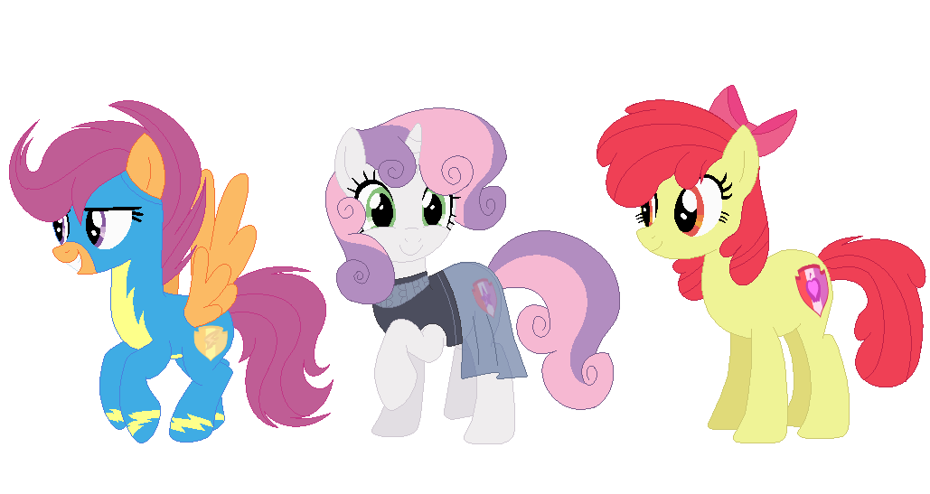 1590834 Adult Apple Bloom Artist Theapplebeauty Base Used Bow Clothes Cutie Mark Crusaders Earth Pony Female Hair Bow Mare Older Pegasus Pony Safe Scootaloo Simple Background Sweetie Belle Transparent Background Trio Unicorn One third of the greatest trio of fillies ever! hair bow mare older pegasus pony