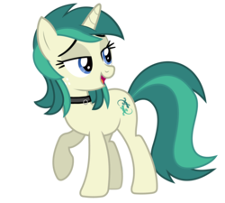 Size: 6000x5400 | Tagged: safe, artist:tyamat, edit, oc, oc only, oc:spring starflower, pony, unicorn, absurd resolution, choker, cute, freckles, lidded eyes, male to female, recolor, simple background, smiling, trans girl, transgender, transparent background, vector