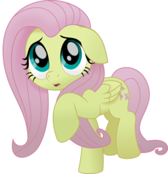 Size: 5174x5375   Tagged: safe, artist:jhayarr23, fluttershy, pegasus, pony, my little pony: the movie, absurd resolution, cowering, cute, female, floppy ears, mare, scared, shyabetes, simple background, solo, transparent background, vector