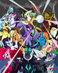 Size: 1368x1724 | Tagged: abyssinian, alicorn, anthro, anthro with ponies, applejack, artist:pencil bolt, bird, capper dapperpaws, captain celaeno, cat, cowering, dragon, faic, fluttershy, funny pony, grubber, looking at you, mane seven, mane six, my little pony, my little pony: the movie, open mouth, pinkie pie, pony, pony fun time, princess skystar, queen novo, rainbow dash, rainbow dash is best facemaker, rarity, safe, scared, seapony (g4), smiling, so awesome, songbird serenade, spike, staff, staff of sacanas, storm, storm king, tempest shadow, twilight sparkle, twilight sparkle (alicorn)