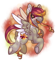 Size: 1317x1413 | Tagged: safe, artist:cloureed, oc, oc only, oc:autumn shimmer, pegasus, pony, female, mare, solo