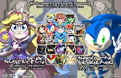 Size: 729x469 | Tagged: safe, artist:terry, discord, twilight sparkle, metalgreymon, awesome fighting game concept, barely pony related, crossover, digimon, doctor eggman, duck tales, fighting game, garnet (steven universe), hekapoo, mario, megaman, pharaoh man, rayman, rocket raccoon, samurai jack, scrooge mcduck, shadow the hedgehog, sonic the hedgehog, sonic the hedgehog (series), star butterfly, star vs the forces of evil, steven universe, the literal bottom of the productivity barrel, the powerpuff girls, undertale, undyne, zero