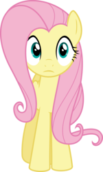 Size: 4864x8121 | Tagged: absurd res, artist:dusk2k, female, fluttershy, mare, pegasus, pony, safe, simple background, solo, transparent background, vector