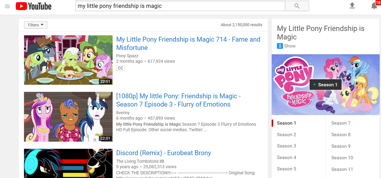 my little pony a flurry of emotions youtube